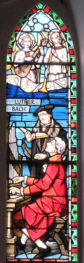 Lutero inspirando a Bach