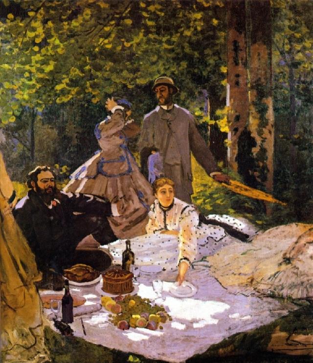 Le déjeuner sur l'herbe (Claude Monet)