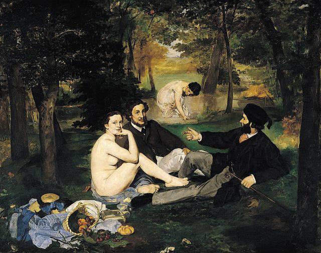 Le déjeuner sur l'herbe (Edouard Manet)