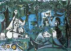 Le déjeuner sur l'herbe (Pablo Picasso)