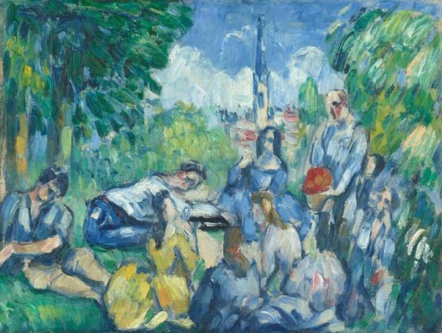 Le déjeuner sur l'herbe (Paul Cezanne)