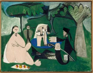 Le déjeuner sur l'herbe (Picasso) 2