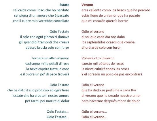 estate-letra