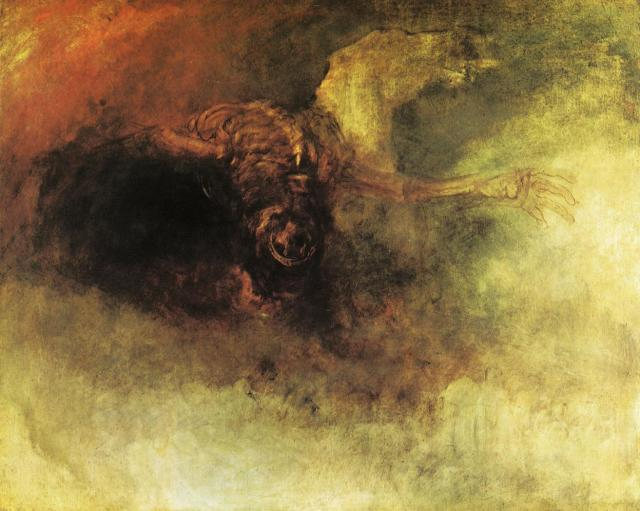 Death on a pale horse (Turner, c. 1825-1830)