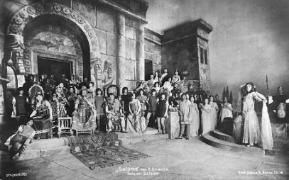 Estreno de Salomé (Dresde, 9 de Diciembre de 1905)
