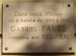 Plaque_Gabriel_Fauré,_154_boulevard_Malesherbes,_Paris_17