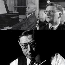 Bartok, Shostakovich y Hanson