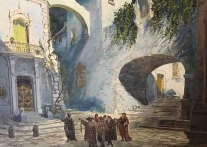 Parravicini_Camillo_-Il-Barbiere-di-Siviglia_bozzetto_atto_I_-1929