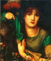 My Lady Greensleeves (Dante Gabriel Rossetti)