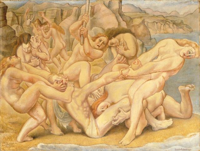 La mort d'Orphée (Louis Bouquet)