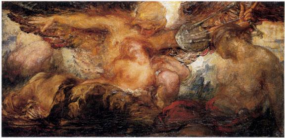 Orpheus and Eurydice (Violet Brunton)